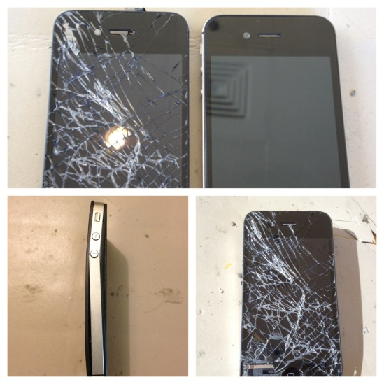 iPhone 4 Before and After