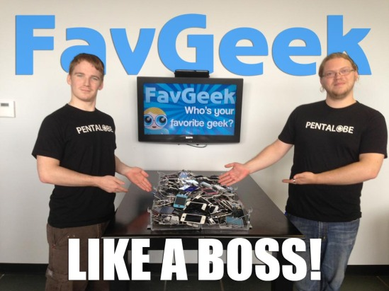 FavGeek Billboard