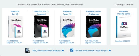 FileMaker screencap